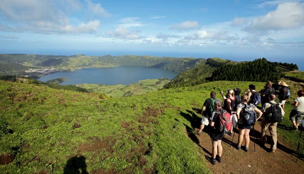 Lagoa do Fogo, île de São Miguel, Açores