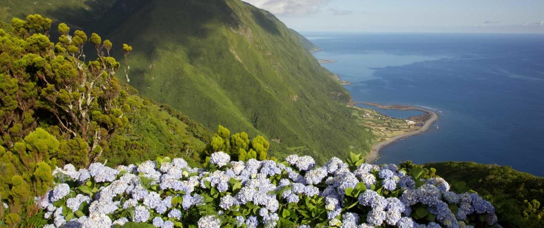 Surnommée l'île marron ou brune, São Jorge est l'île la plus montagneuse de l'archipel des Açores