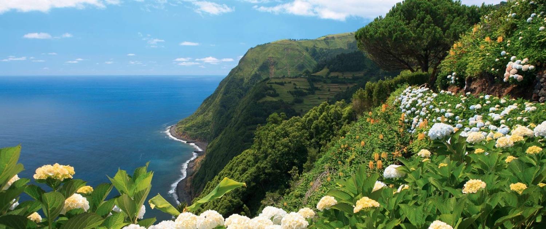 Miradors de Ponta da Madrugada et de Ponta do Sossego, île de São Miguel, Açores