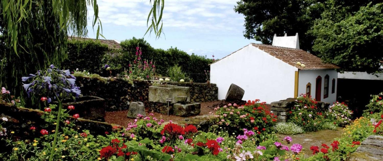 Maison typique de l'île de Terceira sur l'Archipel des Açores
