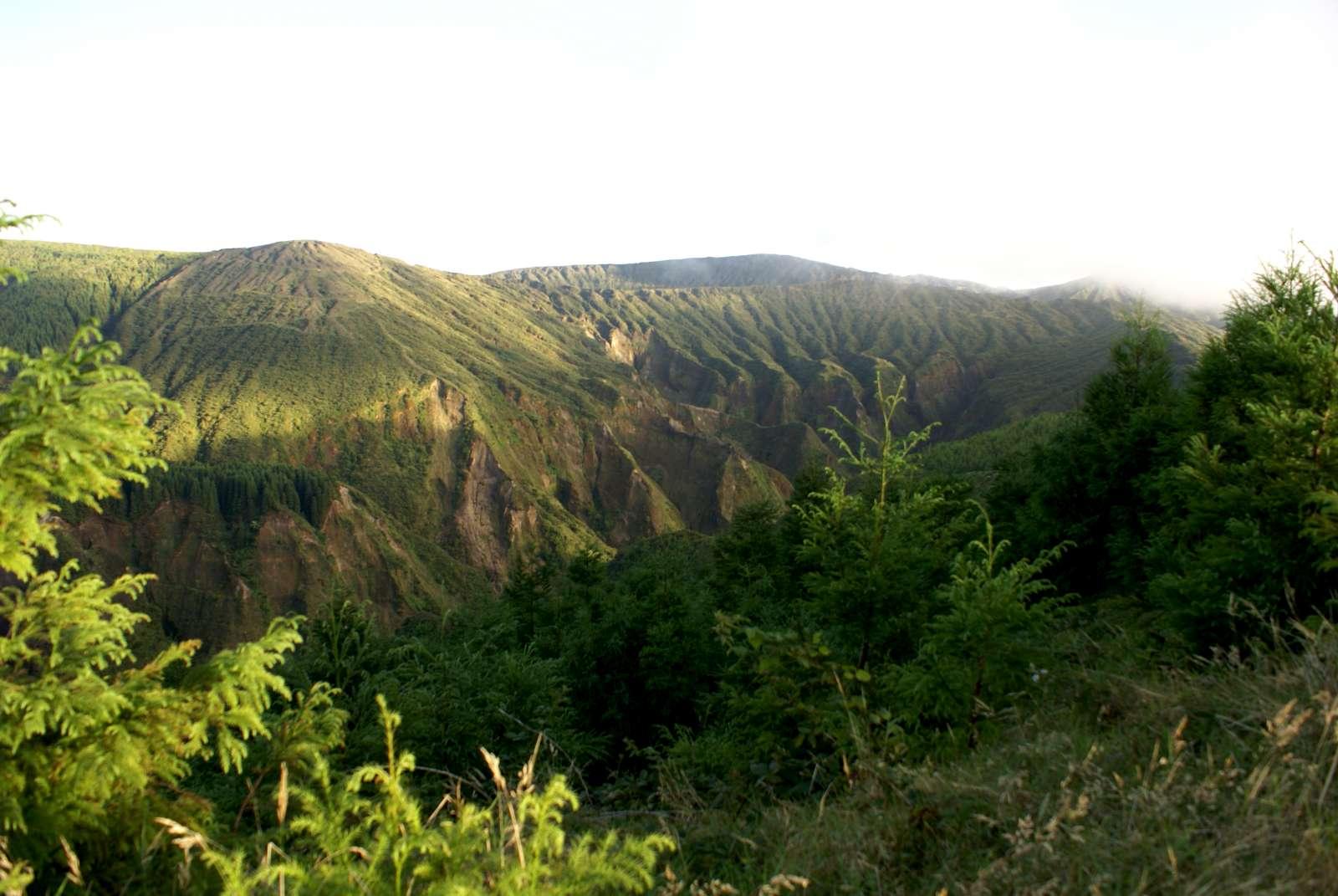 Randonnée Monte Escudo sur l'île de São Miguel avec vues panoramiques