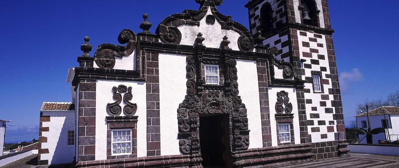 Eglise baroque de Espírito Santo, Île de Santa Maria, Açores