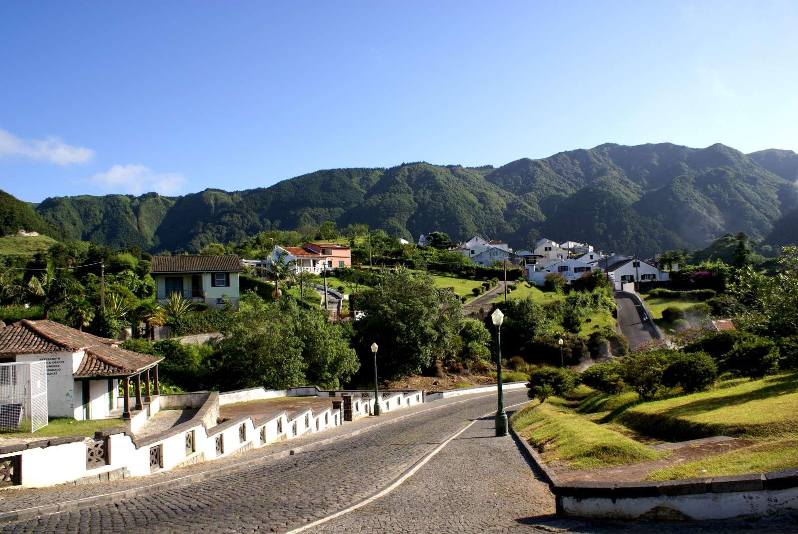 Excursion Nordeste, village typique, île de São Miguel